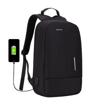 Mairu 3194 Tas Ransel Laptop Backpack Unisex Anti Maling Travel Support USB  Charger Port - mairu.id 67f3b372da