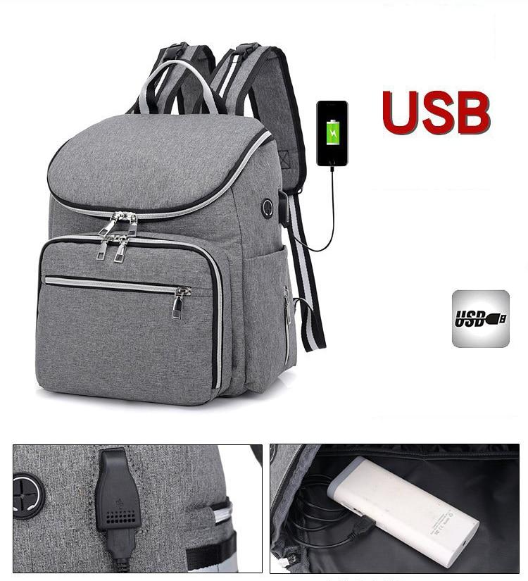Mairu 2202 Tas Ransel Diaper Bag   Mommy Bag   Tas Popok Susu Bayi ... 931575e5b1
