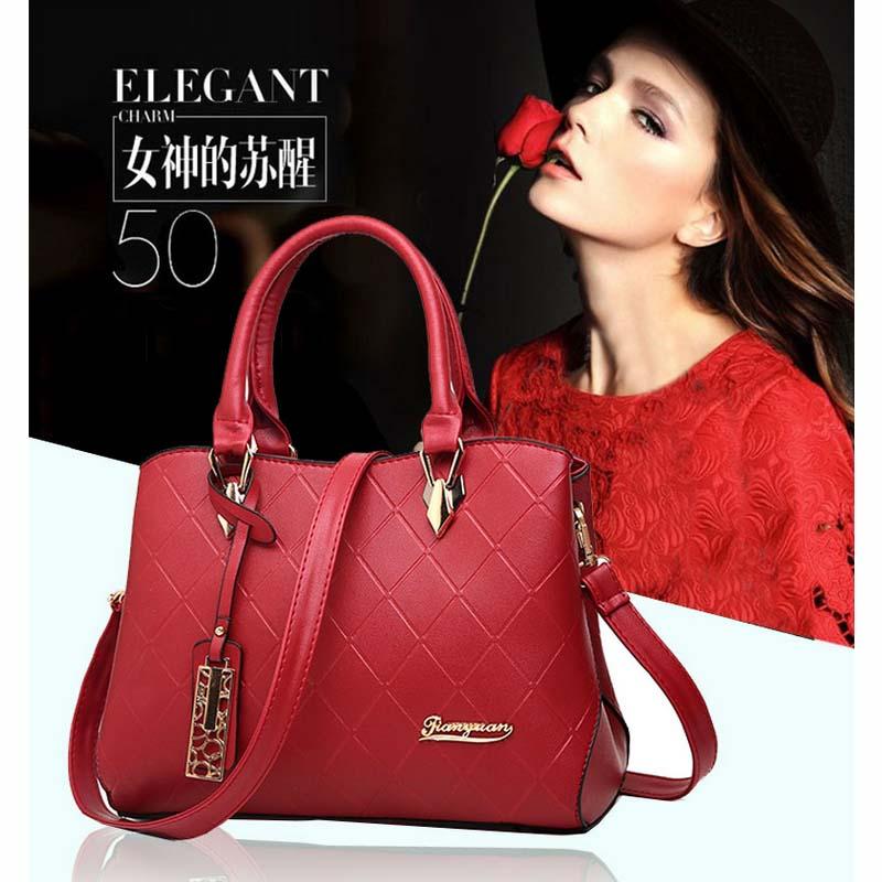 Mairu TY-01 Tas Tangan Branded Wanita Kulit Import Fashion - High ... f52e990804